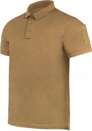 Koszulka polo Mil Tec Tactical Quickdry Coyote XXL - Ceny i opinie T-shirty i koszulki męskie ZJKM