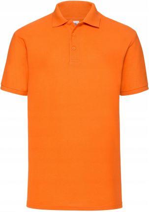 Koszulka Polo 65 35 Fruit of the Loom Pomarańcz XL - Ceny i opinie T-shirty i koszulki męskie ICQV