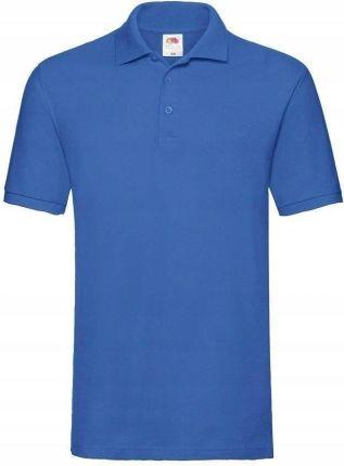 Męska koszulka polo Fruit Premium c.niebieska 3XL - Ceny i opinie T-shirty i koszulki męskie WKQT