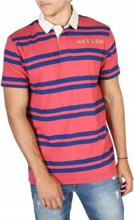 Koszulka męska polo Hackett HM570732 red XXL - Ceny i opinie T-shirty i koszulki męskie OIBZ