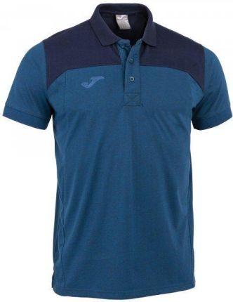Joma Polo Shirt Winner II Cotton Royal Dark Navy S S - Ceny i opinie T-shirty i koszulki męskie VTML
