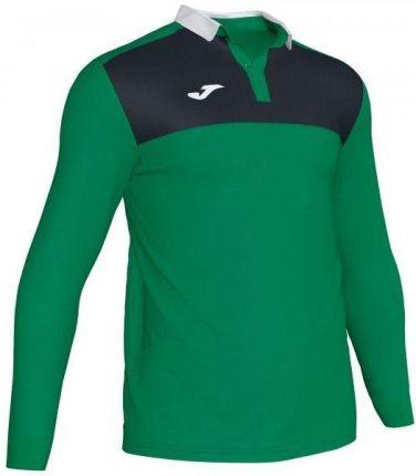 Joma Polo Shirt Winner II Green Black L S - Ceny i opinie T-shirty i koszulki męskie BDAU