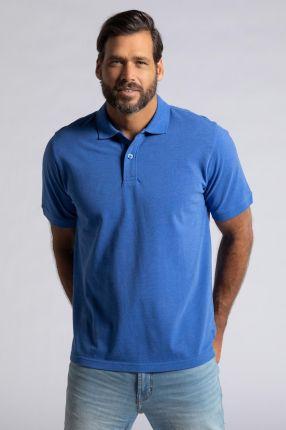 Duże rozmiary Koszulka polo, mężczyzna, niebieski, rozmiar 6XL, bawełna poliester, JP1880 - Ceny i opinie T-shirty i koszulki męskie ISGA