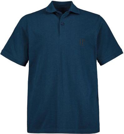 Duże rozmiary Koszulki polo, mężczyzna, turkusowy, rozmiar XXL, bawełna poliester, JP1880 - Ceny i opinie T-shirty i koszulki męskie TBFZ