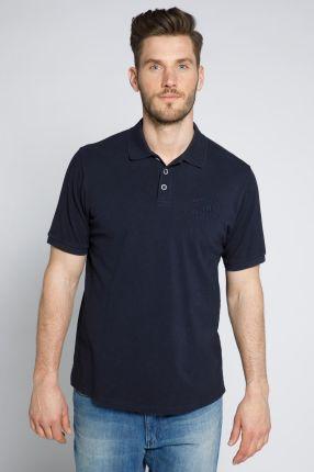 Duże rozmiary Koszulka polo vintage, mężczyzna, niebieski, rozmiar XXL, bawełna, JP1880 - Ceny i opinie T-shirty i koszulki męskie SNYR