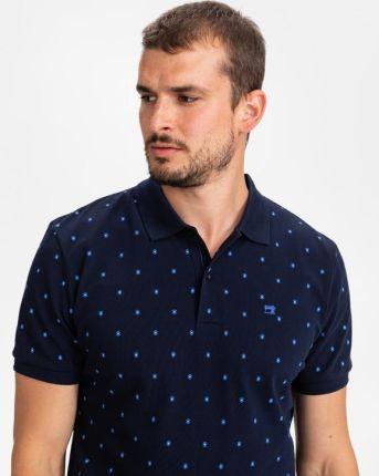 Scotch & Soda Polo Koszulka Niebieski - Ceny i opinie T-shirty i koszulki męskie SRAX
