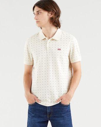 Levi's Standard Housemarked Polo Koszulka Beżowy - Ceny i opinie T-shirty i koszulki męskie RSVT