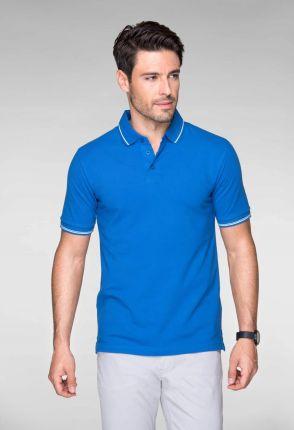 Koszulka polo Męska Premium 251 PolÓwka Czarna 3XL - Ceny i opinie T-shirty i koszulki męskie LZXS
