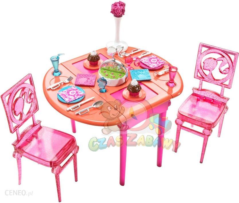 Barbie Zestaw Do Jadalni T7536 T8007 Ceny I Opinie Ceneo Pl