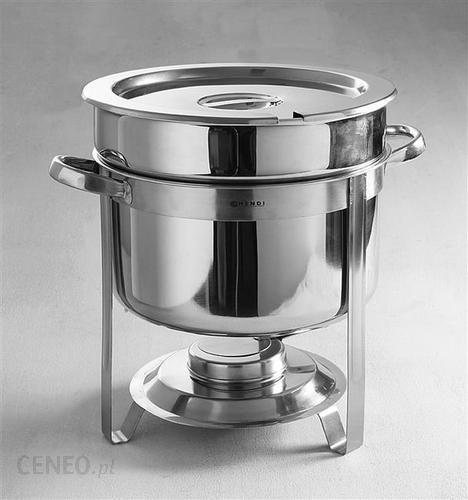 Ogromny Hendi Podgrzewacz do zup na pastę okrągły 10 L, Profi Line (472507 BE51