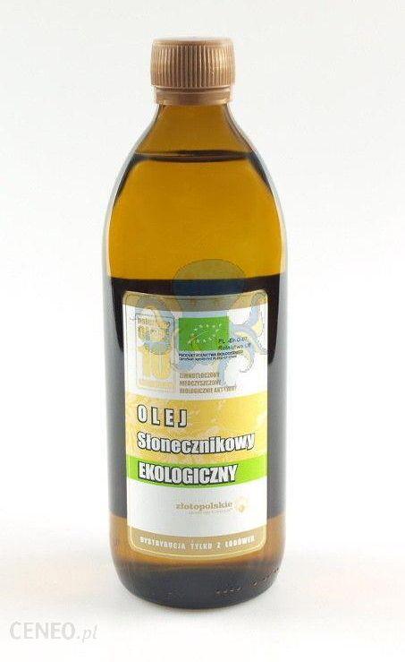04beeaf998a6d2 Złoto Polskie Olej słonecznikowy 500ml - Ceny i opinie - Ceneo.pl