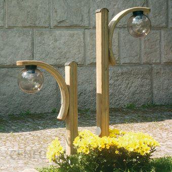 Ansmann Lampa Ogrodowa Drewniana Z łukiem H80 Cm Ceny I Opinie