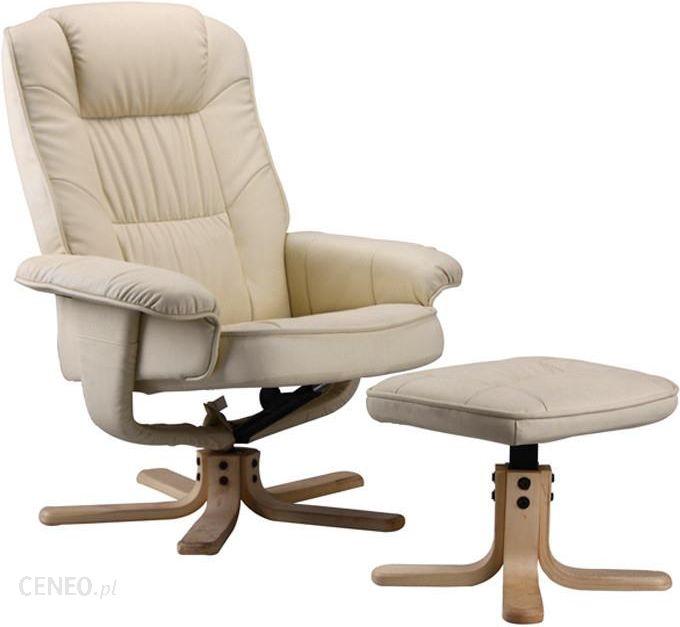 Regoline Fotel Masujący Wypoczynkowy Biurowy Z Masazem Ogrzewanie Regoline Kremowy Ecru 404007