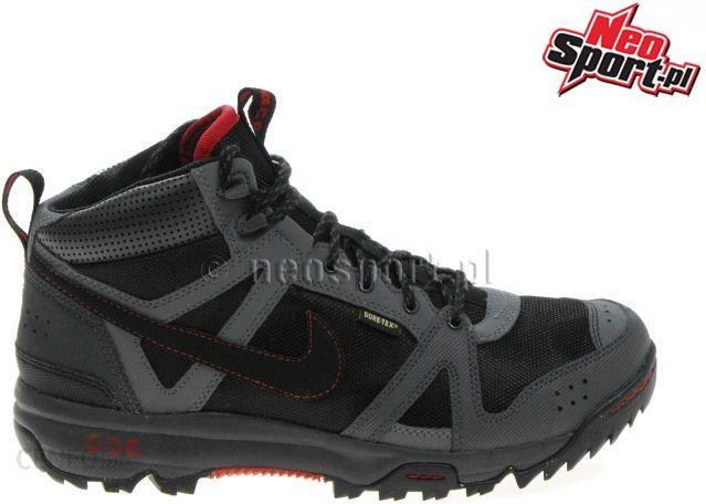 c1e47ab2c4f Расцветки 002  Buty Nike RONGBUK MID GTX GORE TEX 365657.002 Trekkingowe  Czarny - zdjęcie 1 ...