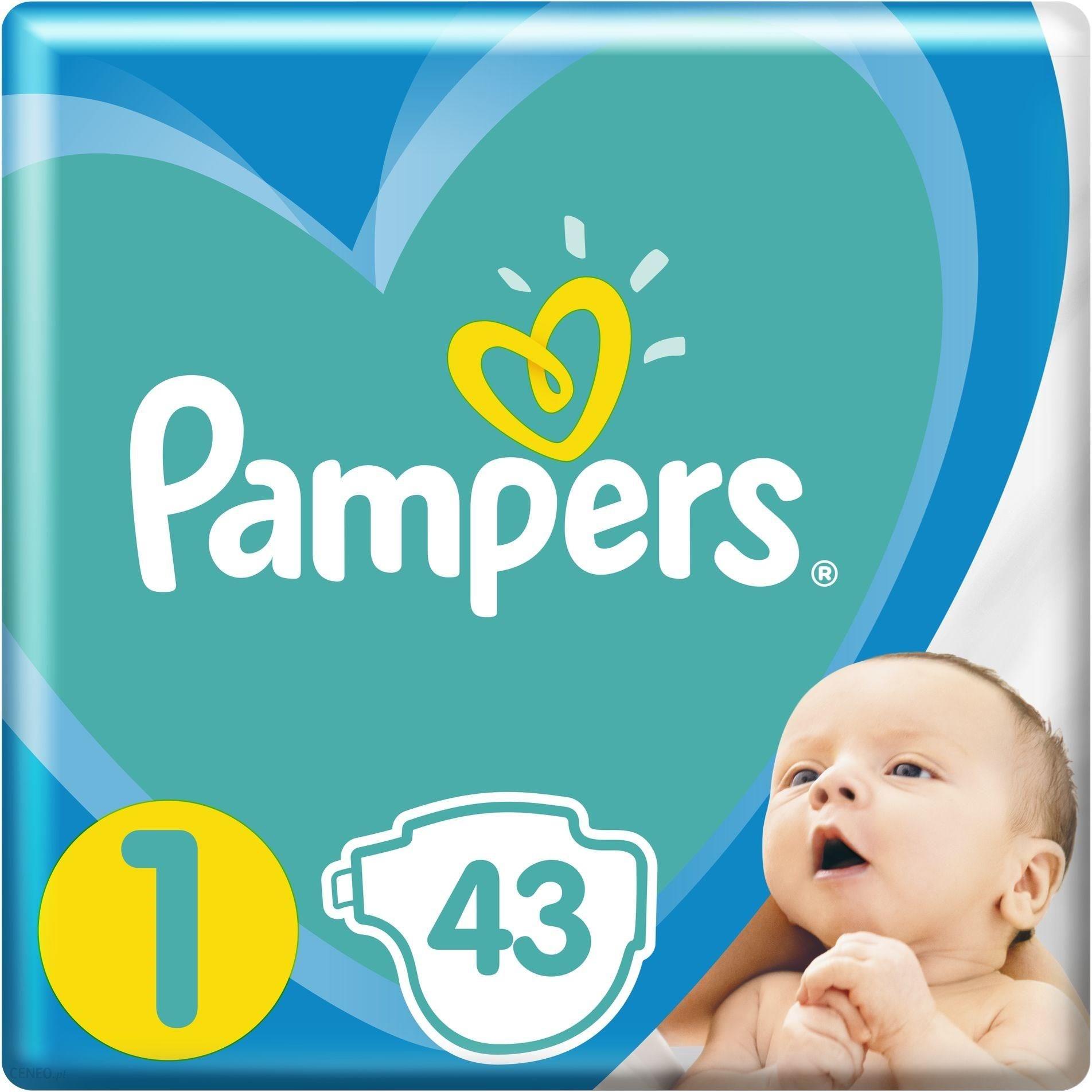 Pampers New Baby VP rozmiar 1 43 pieluszki