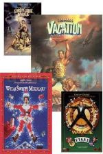 W krzywym zwierciadle: Wakacje / Europejskie wakacje / Witaj Święty Mikołaju / Wakacje w Vegas (National Lampoon s Vacation, European Vacation) (4DVD)