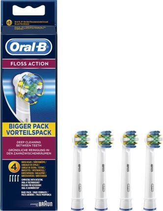 Końcówka Oral B Floss Action Końcówki 4 Sztuki Eb25 4 Opinie I