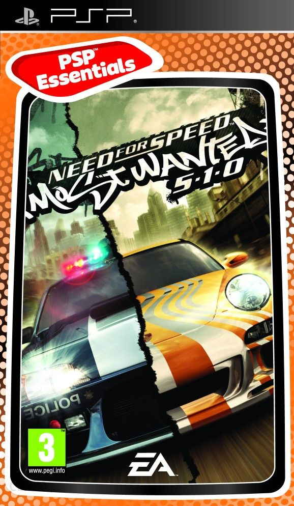 Need For Speed Most Wanted Essentials Gra Psp Ceneo Pl