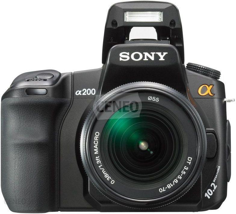 Lustrzanka Sony Alpha A200 Dt 18 70 Mm F 3 5 5 6 Ceny I Opinie Na Ceneo Pl
