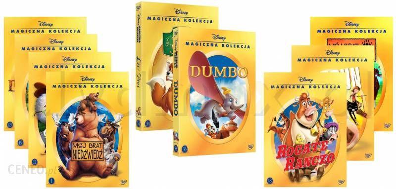 Pakiet Filmowy Magiczna Kolekcja Pakiet 3 Dinozaur Dumbo