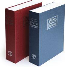 Argo KASETKA KSIĄŻKA skrytka imitująca słownik - niebieska