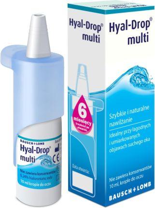 e041d903b17c5a Hyal Drop Multi krople do oczu 10 ml - Opinie i ceny na Ceneo.pl
