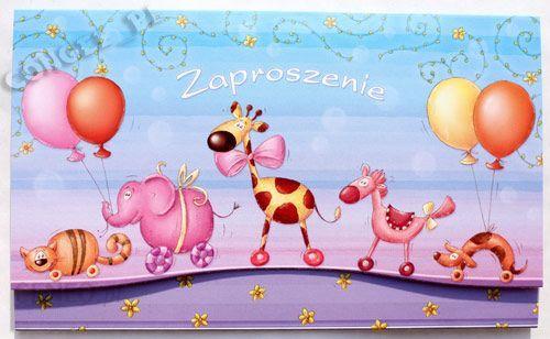 Zaproszenie Na Urodziny Dziecka Z żyrafką Ceny I Opinie Ceneopl