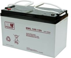 MW Power Akumulator AGM MWL 100-12h 12V 100 Ah (MWL 100-12h)