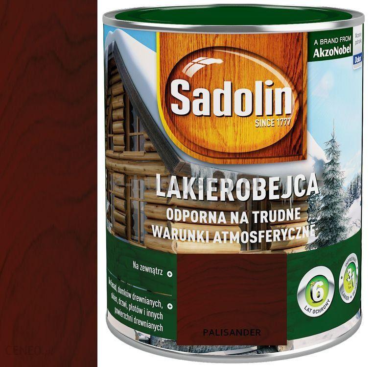 74861e860e7266 Sadolin Lakierobejca Palisander 2,5L - Opinie i ceny na Ceneo.pl