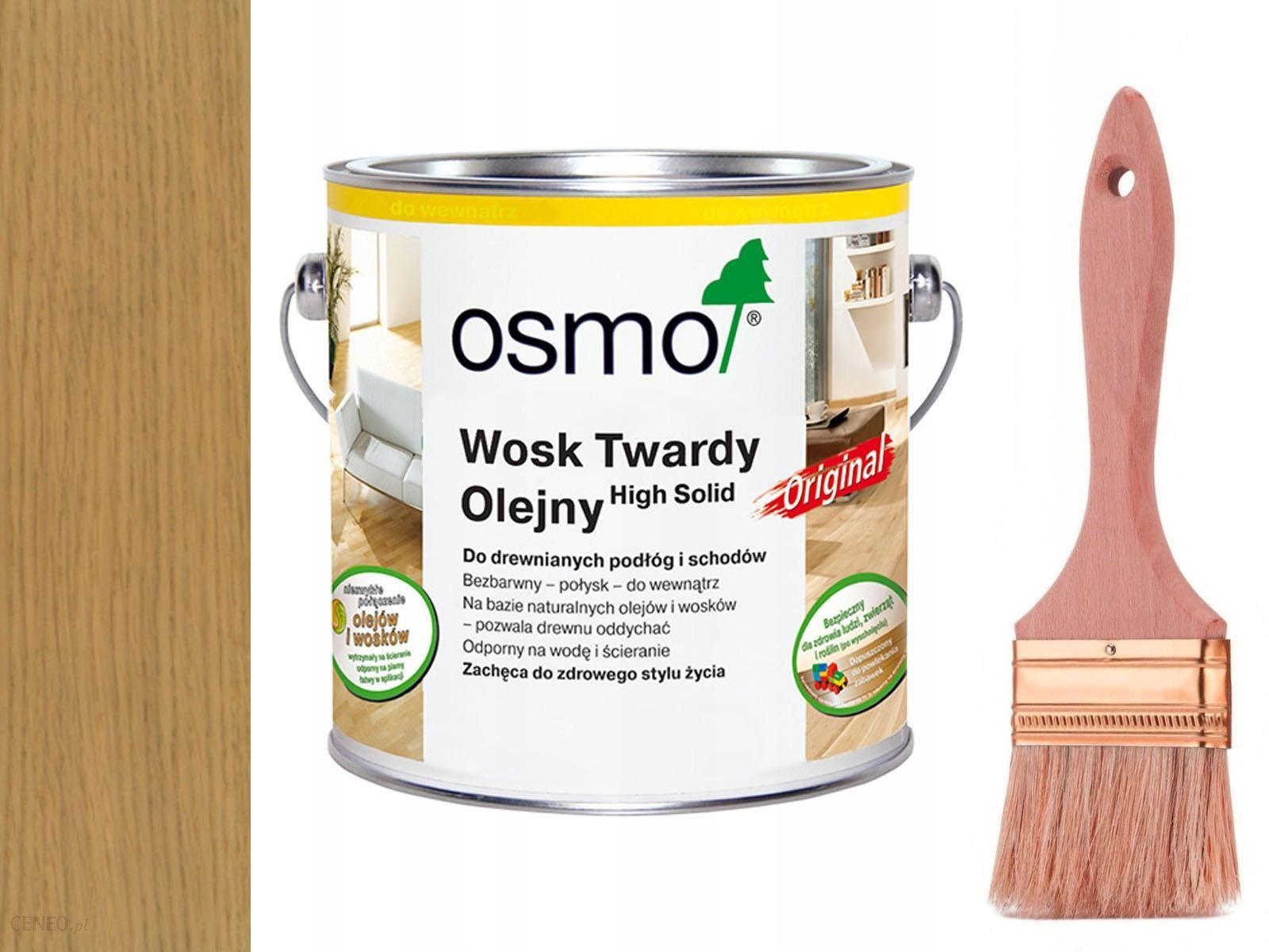 Osmo 3062 Wosk Twardy Olejny Original Mat 0 75 L Opinie I Ceny Na Ceneo Pl