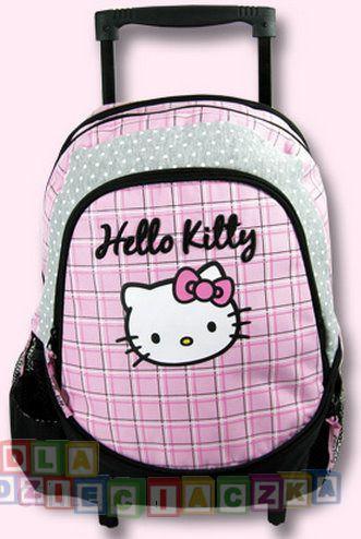 08597909c44ff Derform Hello Kitty - Plecak 15 Na Kółkach Hk 16 - Ceny i opinie ...