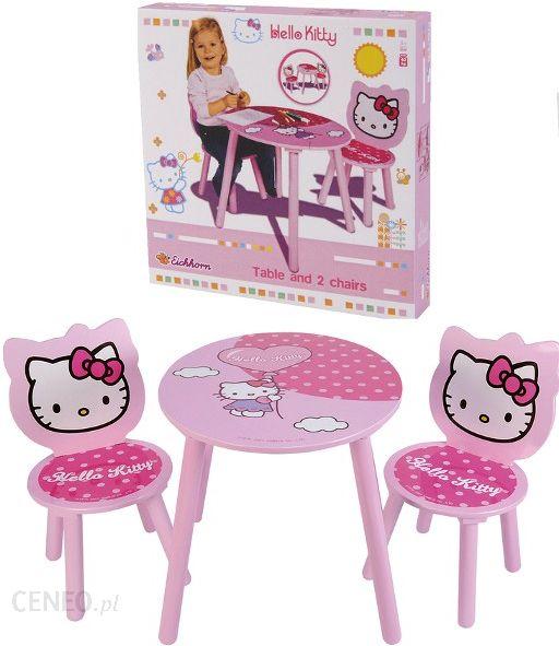 163a966815de66 ... Eichhorn Hello Kitty Drewniany Stolik + 2 Krzesła 3133 - zdjęcie 3