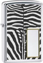 Zippo Zebra High Polish Chrome Each Z28046