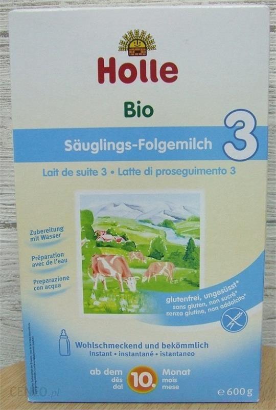 789e5382edbcbe Holle Mleko Dla Niemowląt Po 10 Miesiącu Bio600G - Ceny i opinie ...