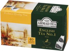 Ahmad Tea London English Tea No.1 40 torebek bez zawieszki