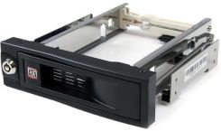 "StarTech.com 5.25"" Tray-Less SATA Hot-Swap Bay (HSB100SATBK)"