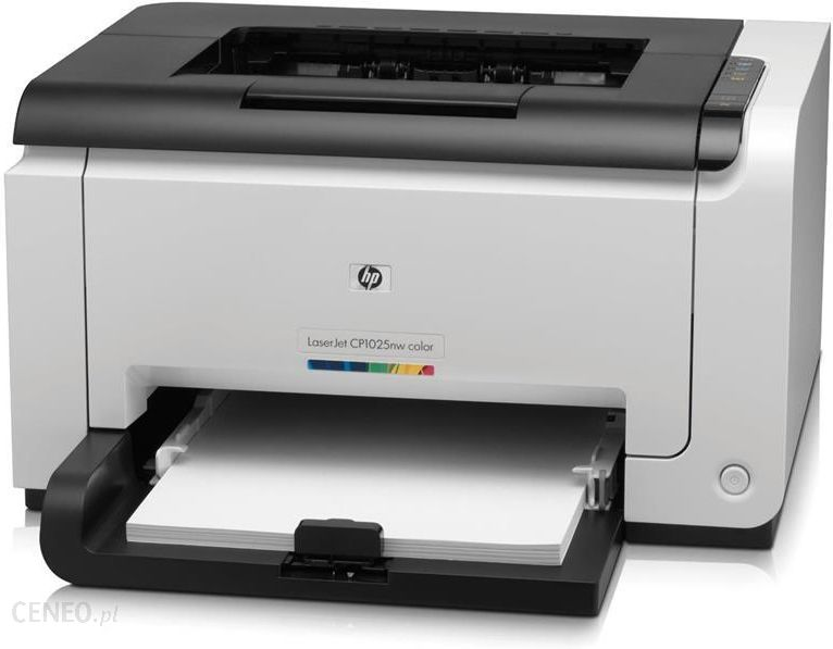 Drukarka laserowa HP LaserJet Pro CP1025nw Color Printer ...