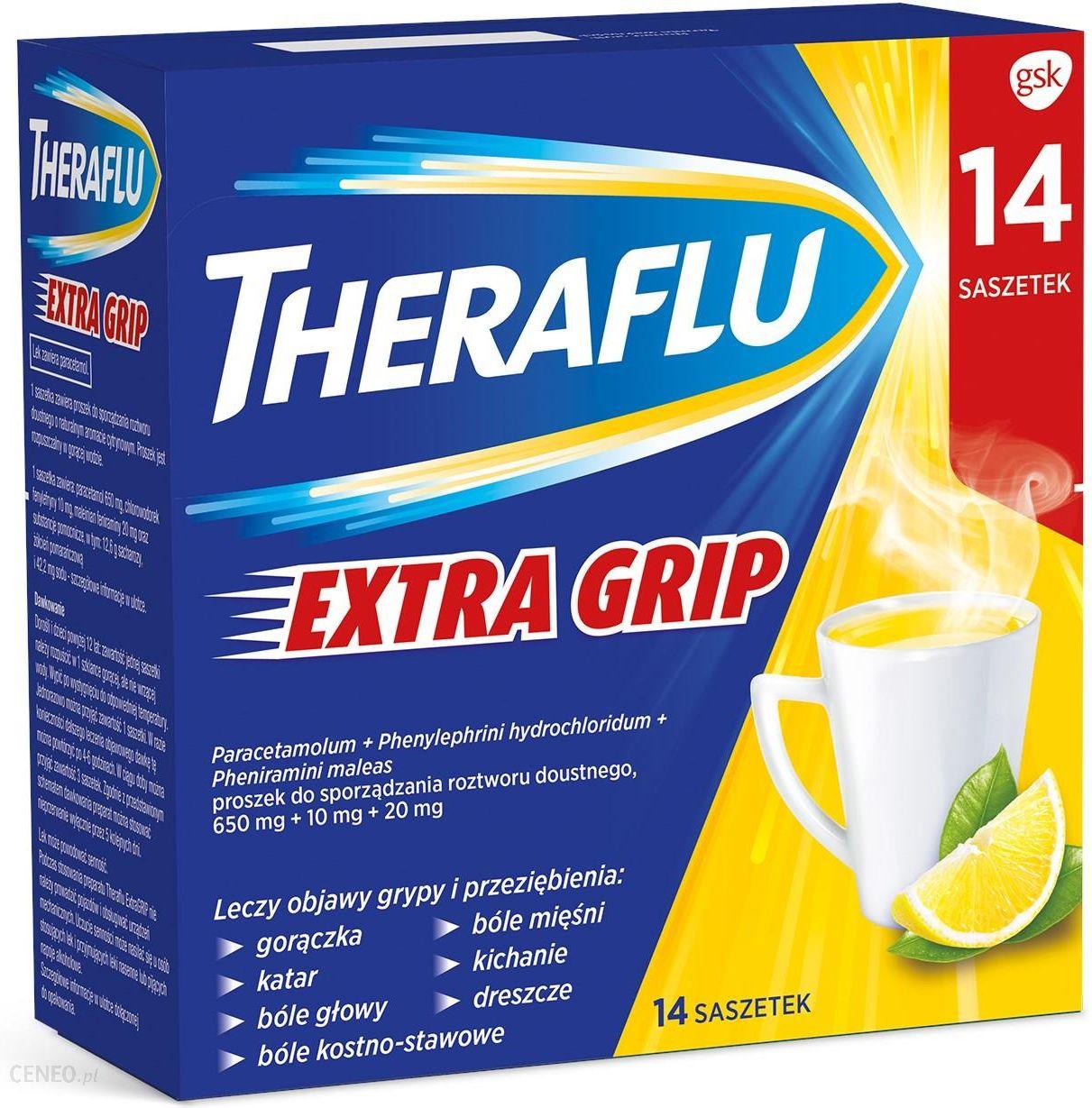Theraflu Extra Grip 14 saszetek