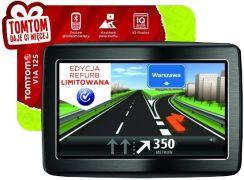 Nawigacja Samochodowa Tomtom Via 125 1eh5 002 02 Opinie I Ceny Na Ceneo Pl