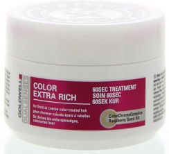 Goldwell Dualsenses Color Extra Rich, 60 sekundowy balsam do włosów farbowanych, 200ml