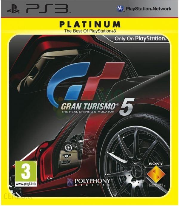 Gran Turismo 5 Platinum Gra Ps3 Ceneo Pl