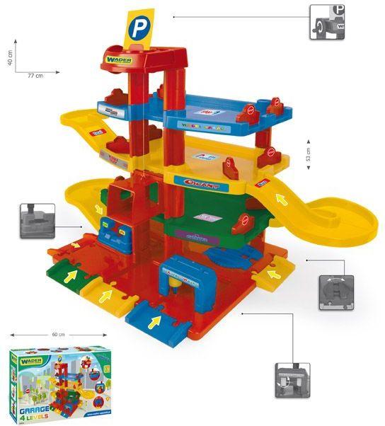 Wader Garaż Parking Dla Dzieci 50450 Ceny I Opinie Ceneopl