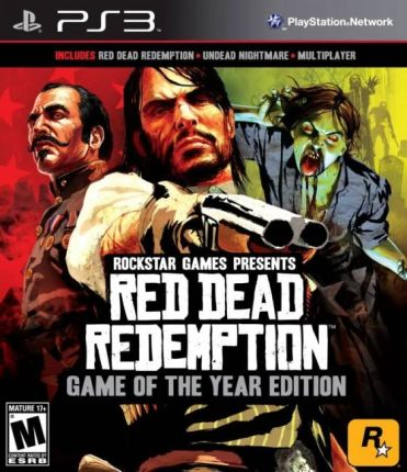 Red Dead Redemption GOTY (Gra PS3)