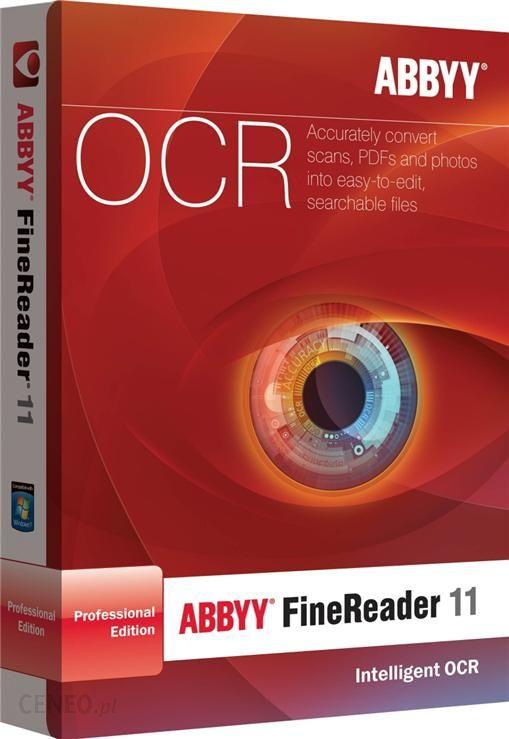 ABBYY FineReader 11 Pro PL Box (AF11-1S1B01-909)
