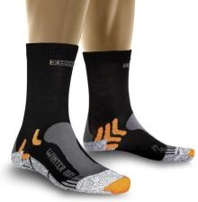 X-Socks skarpety do biegania Winter Run Silver