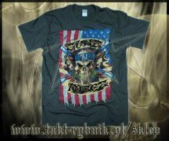 7dc29493c Koszulka GUNS n ROSES American Flag GREY imp. - Ceny i opinie - Ceneo.pl