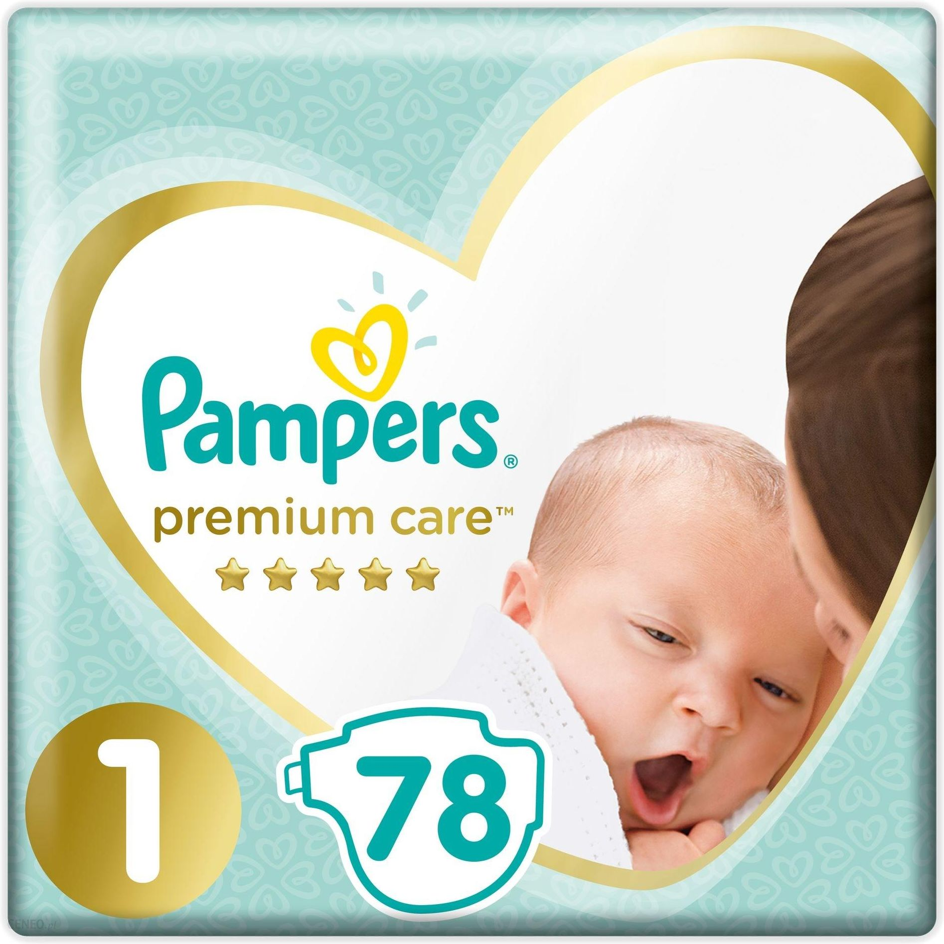 Pampers Premium Care VP rozmiar 1 78 pieluszek