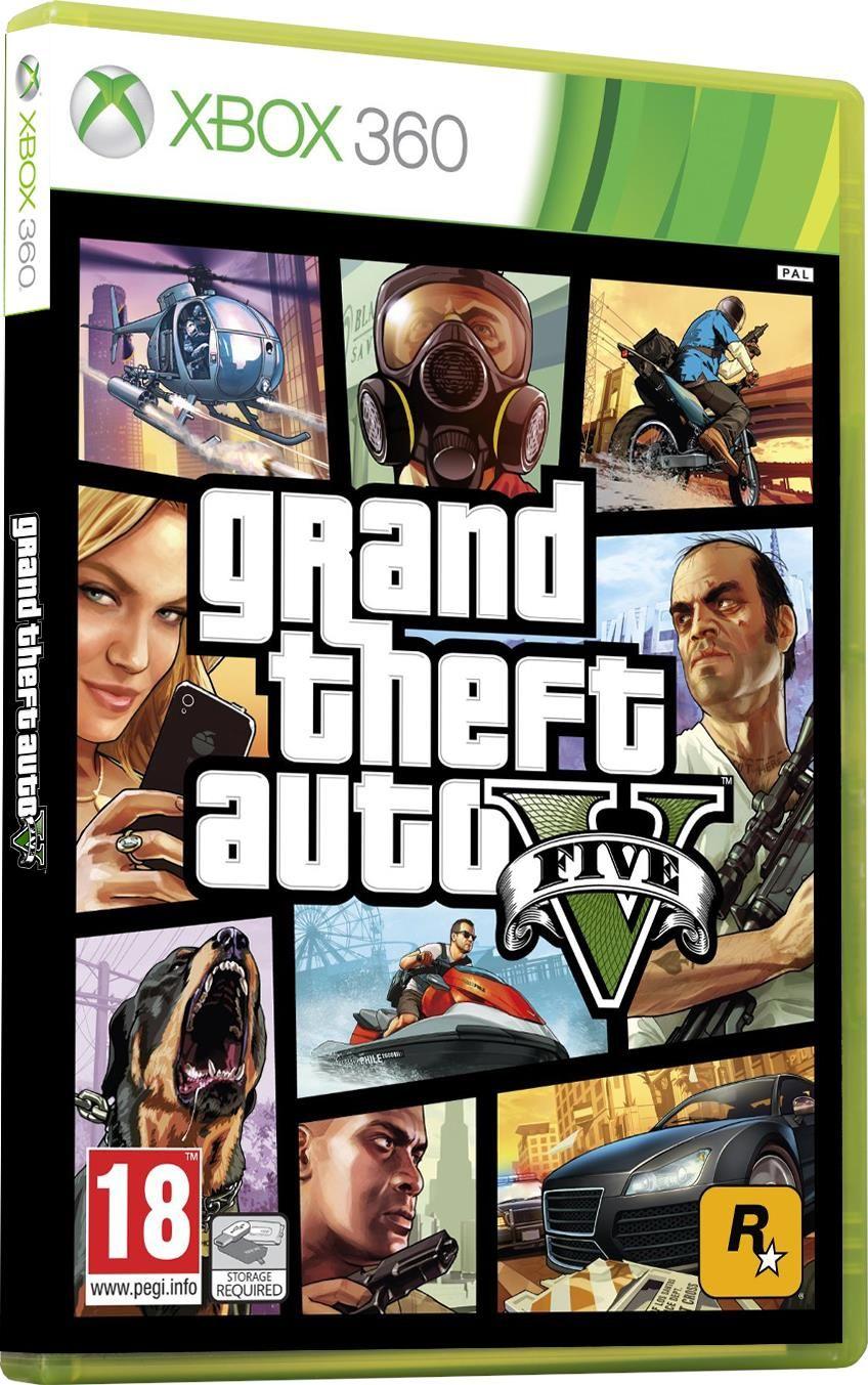 44d427426a0c2c Gra na Xbox Grand Theft Auto V (Gra Xbox 360) - zdjęcie 1 ...