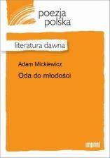 Oda Do Młodości Adam Mickiewicz E Book