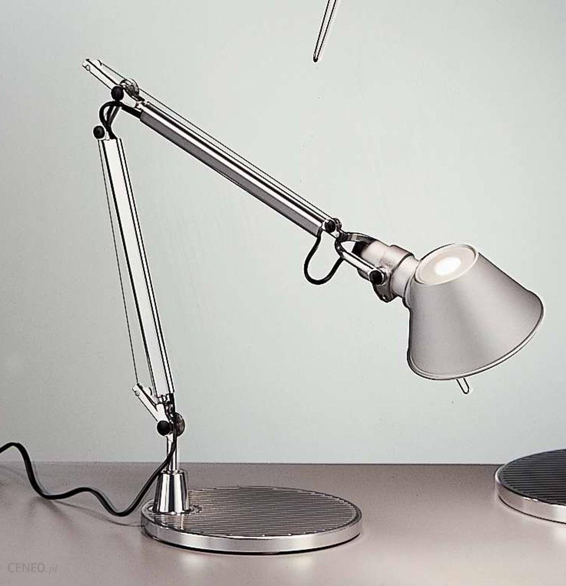 lampa sto owa artemide tolomeo micro led materia y podstawa i struktura z ruchomymi ramionami. Black Bedroom Furniture Sets. Home Design Ideas